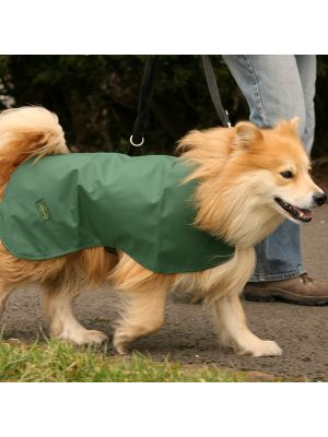 The Quickie - Waterproof Cotton Lined Dog Coat